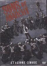 4 Dvd Box Cofanetto «SONS OF ANARCHY ♦ STAGIONE CINQUE 5» nuovo 2012