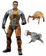 "NECA Half-Life 2 Videogame Dr Gordon Freeman gravity Weapon Model 7"" Figure"