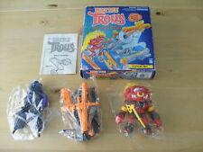 Vintage 1992 Hasbro Toys bataille Trolls Bulls-eye Troll & Filet de capture-New Boxed