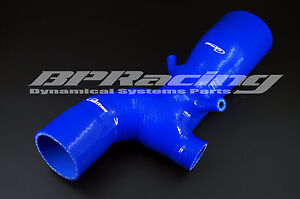 Silicone Air Intake Induction Hose/Pipe for Mitsubishi Lancer EVO 7 8 9 CT9A Blu