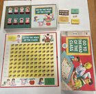 Vintage Go To The Head Of The Class Board Game MB 1967 Series 15 Complete