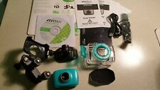 New Vivitar DVR781HD 720P HD Waterproof Action Video Camera Cam Bike Helmet