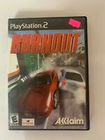 Burnout  Play Station 2 Used Game A07