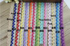 Cotton Crochet Lace Trim Wedding Bridal Ribbon Sewing DIY Crafts 10 Yards