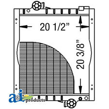 John Deere Parts RADIATOR AL115002 6405 (Late SN W/ 1 Thermostat),6400SP,6310S,6