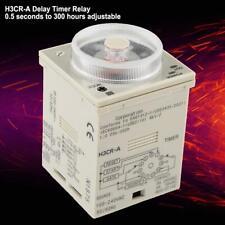 H3CR-A Delay Timer Relay 0.5S-300H Knob Delay Relay 11-Pin 100-240VAC 100-125VDC