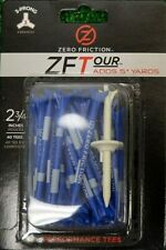 "ZERO FRICTION ZF TOUR GOLF TEES 2 3/4"" 3-PRONG 40 TEES PER PACK"