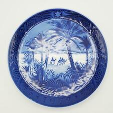 1972 Royal Copenhagen Christmas Plate Wise Men In The Desert Camels Palm Trees