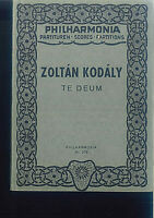 Zoltan Kodaly - TE DEUM - Taschenpartitur