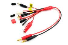 Etronix Kit Multi-Cavo per Carica Batteria GLOW/TAMIYA/DEANS/ JR TX+RX - ET0279