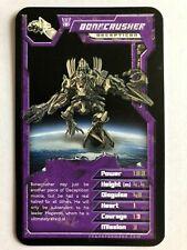 Top Trumps BONECRUSHER Transformers Super Top Trump Card