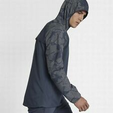 Nike Men's Running Flash Reflective Jacket Blue 858151 471 Size L