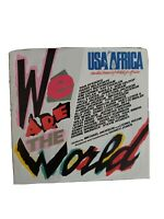 1985 45rpm Record We Are the World USA for Africa Michael Jackson Lionel Richie!