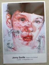 JENNY SAVILLE   Jenny Saville   2012 LARGE ART EXHIBITION POSTER