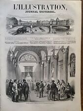 L' ILLUSTRATION 1849 N 309 LE SALON DE LA PAIX A L' ASSEMBLEE NATIONALE