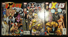 Exiles #55 56 57 (2005, Marvel) Vf Bump in the Night Parts 1-3 Set Blink Morph