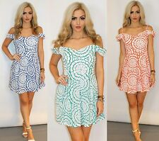 Unbranded Round Neck Casual Floral Dresses for Women