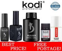 Kodi Rubber Base Gel Coat, Top, No Sticky, Ultrabond, Matte, Nail Fresher Primer
