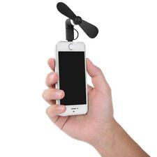 2 in 1 Ventilator für Apple und Android, Mini Fan für Iphone, Samsung, htc etc.