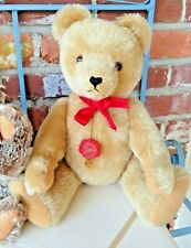 Vintage Germany Hermann Teddy Bear - Fully Jointed Golden Mohair Beauty!