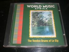CD WORLD MUSIC - THE VOODOO DRUMS OF LE GIP - COLUMBIA USA VG+