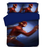 The Flash Blue Single/Double/Queen/King Size Bed Quilt/Doona/Duvet Cover Set