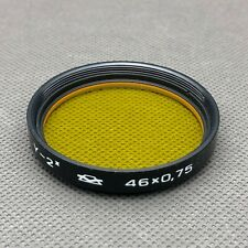 46 x 0,75mm  screw yellow filter