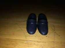 Barbie Doll Clothing Accessory Black Secretary Shoes Will Marry Rich Soon Blonde