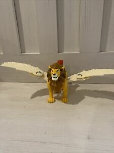 Imaginext King Leonidis Mattel 2014 Toy Lion Winged Action Figure