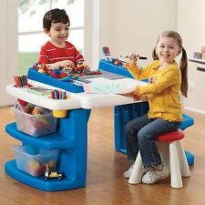 Kids Activity Craft Table Stool Toddler Learning Fun Art Area Play Room Small