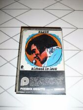Elvis Presley – Almost In Love Cassette audio Tape Compilation