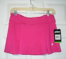 Prince Women's Tennis Skirt Pink Raspberry Size Large 14 New NWT