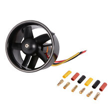 64mm EDF 4500KV Brushless Motor with 5 Blades Ducted Fan Set for Airplane RC379