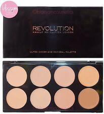 Makeup Revolution Cover and Conceal Palette Contour Highlighter LIGHT - MEDIUM
