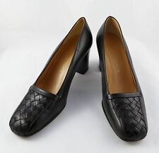 "Bottega Veneta Ladies Brown Shoes Pump Leather 2.5"" Heels Size 7 Made In Italy"