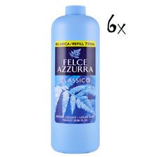 6x Felce Azzurra Handseife classico Cremeseife seife Flüssigseife 750ml Nachfüll