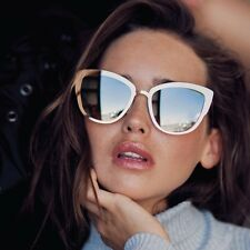 "NEW QUAY AUSTRALIA Gold ""SUPER GIRL"" Cat Eye Sunglasses -SALE"