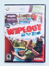 WIPEOUT IN THE ZONE Xbox 360 Complete CIB w/ Box, Manual