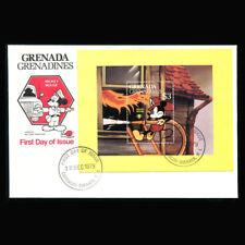 Disney FDC Grenada Grenadines #359 S/S 1979 Fireman Mickey Mouse, GG213*F