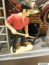 Figur - Arbeiterfigur mit Spitzhacke. Optimal für Wilesco Dampfmaschine & andere