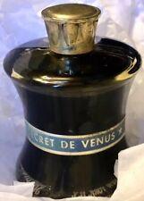 SECRET DE VENUS - WEIL 1oz HUILE POUR LE BAIN Parfum Bath Oil Perfume FULL Rare