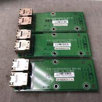 LOT OF 3 HP ProCurve 2650 Ethernet RJ-45 Board 142365020001A