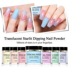 BORN PRETTY Translucent Starlit Nail Dipping Powder Glitter Dust Natural Dry DIY