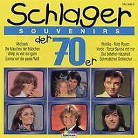 Hits der 70iger-Schlager Souvenirs von Various   CD   Zustand gut