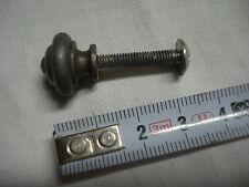 1 bouton poignée de tiroir en fer diamètre 16 mm (réf  D)