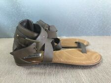 BNWT Ladies Older Girls Sz 4 Smart Brown Rivers Doghouse Strappy Sandals