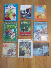 LOT OF 9 BOOKS PRE K - 3rd GRADE AGES 4 - 8 SUMMER READING LITERATURE LANGUAGE A