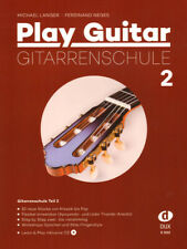 Michael Langer Play Guitar Gitarrenschule Band 2 Noten mit CD