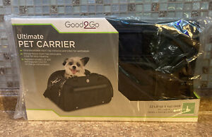 Good2Go Ultimate Pet Carrier in Size Large For Pet Dogs & Cats to 22lbs - New -