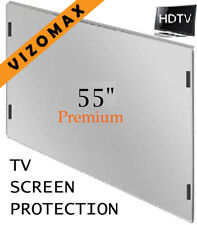 TV screen protector 55 inch protection for LCD LED & OLED HDTV-damage proof